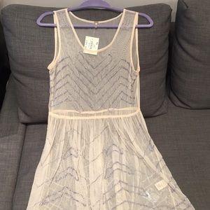 NWT Beaded Mesh Dress